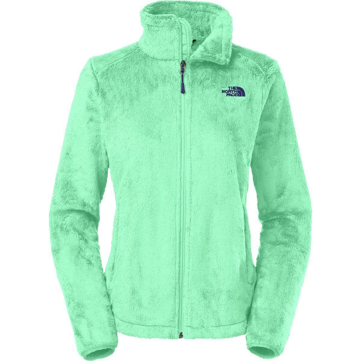Amazon Com The North Face Women S Osito 2 Jacket Surf Green L Clothing Fleece Jacket Womens Sporty Jacket Fleece Jacket [ 1200 x 1200 Pixel ]