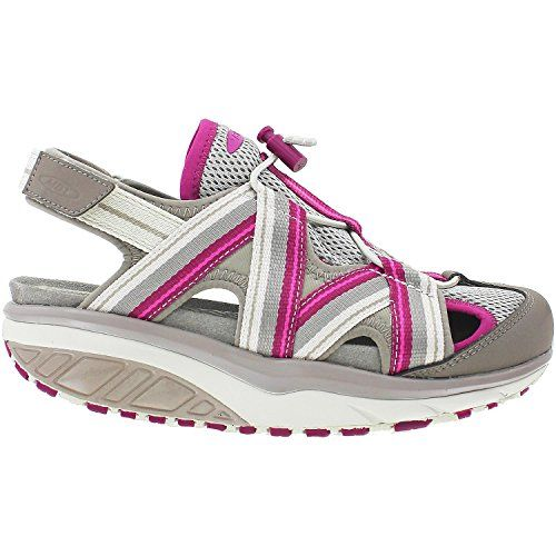 Women's MBT Jasira 6 Trail Sandal, Clay Grey/Red Violet, 42 B * Read more  at the image link.