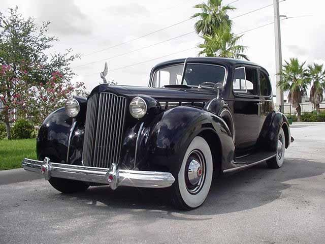 1938 Packard Super Eight 5 Passenger Coupe With Images Packard