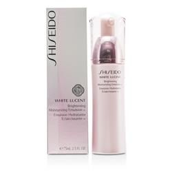 White Lucent Brightening Moisturizing Emulsion W is a Women's Shiseido Skincare product.