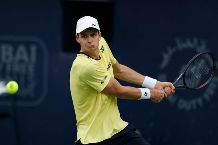 Hubert Hurkacz Reflects On The First Top 10 Win Against Kei Nishikori Novak Djokovic Tennis Magazine Grand Slam Tennis