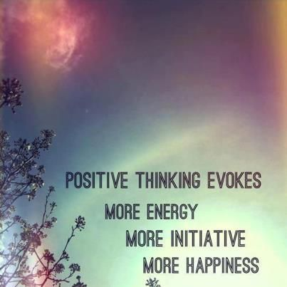 Remember that positive thinking can give us the right perspective and the right eyes to see the others with