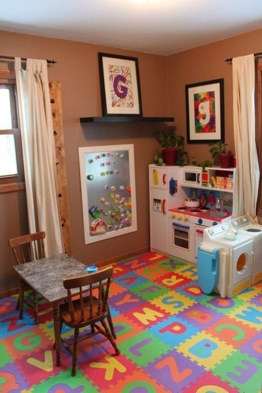 20 Fun And Cozy Kids Playroom Ideas On A Budget Small Kids Room Toddler Playroom Kid Room Decor