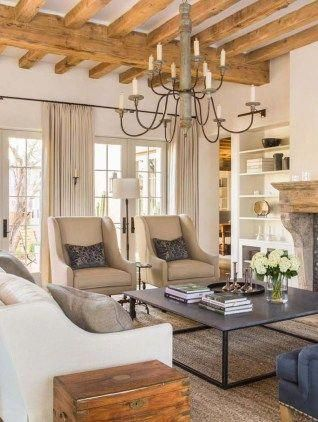 Mediterranean Style Dream Home With Rustic Interiors In The