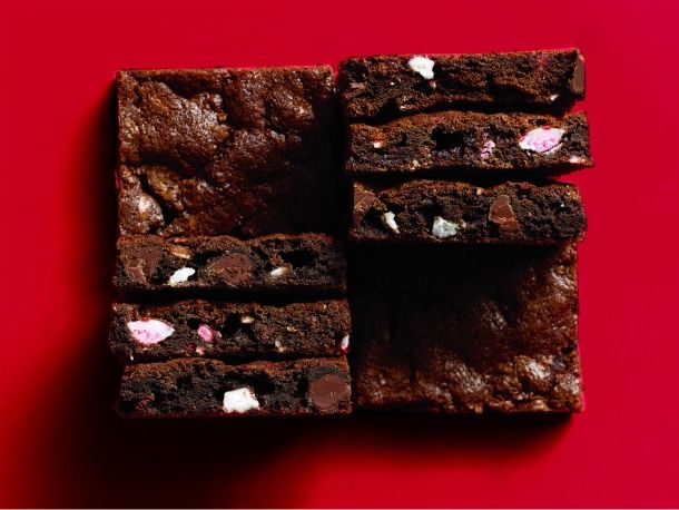 Chocolate Peppermint Bar Cookies. Maybe for Christmas gifts?