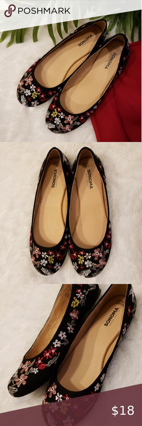 Sonoma shoes, Womens ballet flats, Flat
