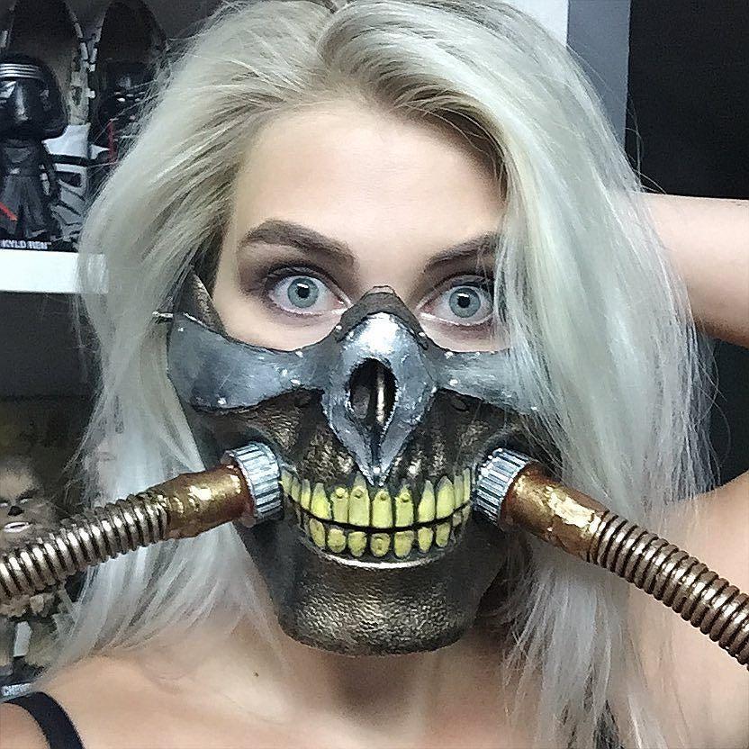 Ah mediocre! DIY Immortan Joe mask. Kept me busy all day