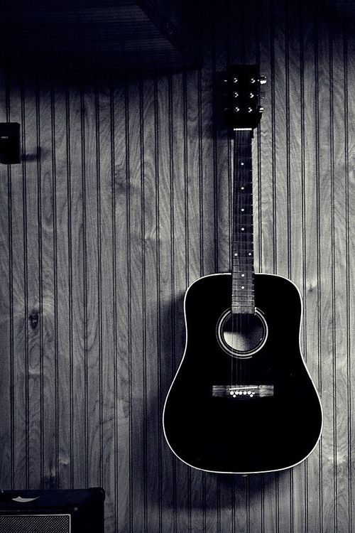 Imgs For Guitar Tumblr Black And White