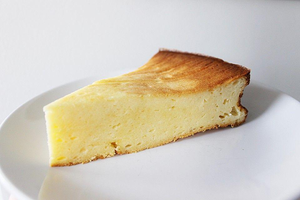Saftiger Käsekuchen ohne Boden (Rezept mit Bild)   Chefkoch.de