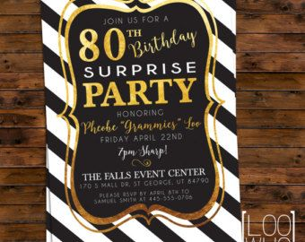 Printable 80th birthday party invitations pasoevolist printable 80th birthday party invitations filmwisefo Image collections