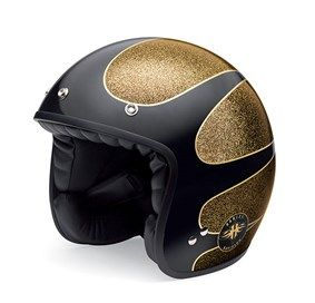 5e2bf08d Harley Davidson - HARD CANDY GOLD 3/4 HELMET - $129.95 | Motorcycle ...