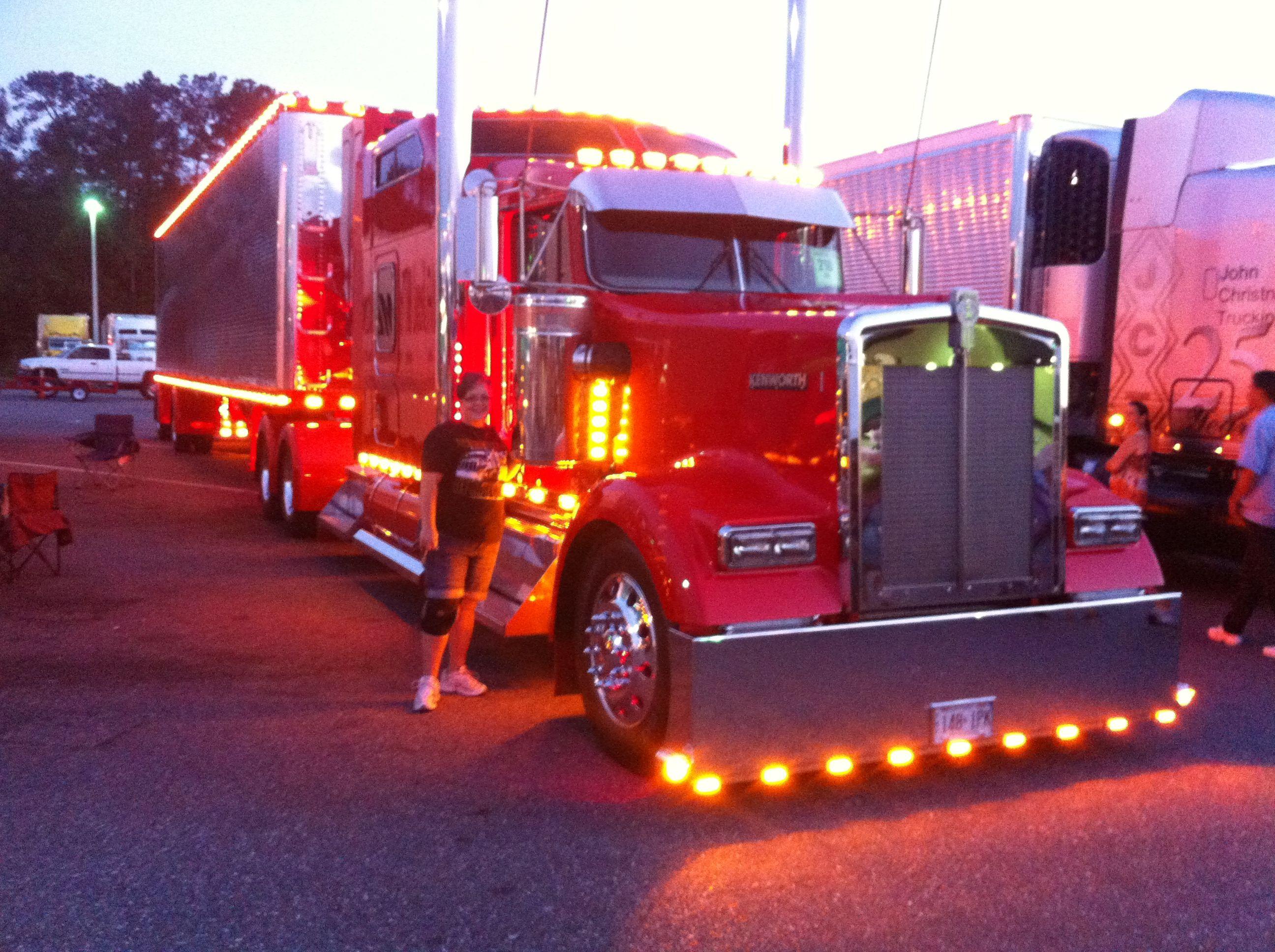 2017 Semi Truck Show Wildwood Fl