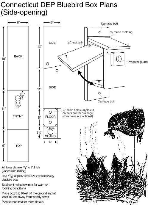bluebird house plans. Blue Bird House Plans Free Birdhouse For Bluebirds And 70 Other Species However Bluebird With Video Instruction Take Battles B