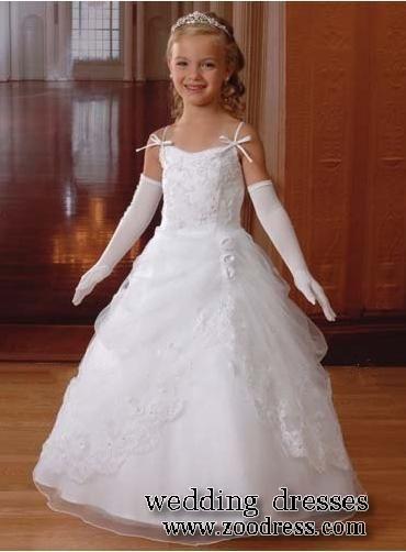Fotos de vestidos para niñas- Cortejo de bodas | Lugares para ...