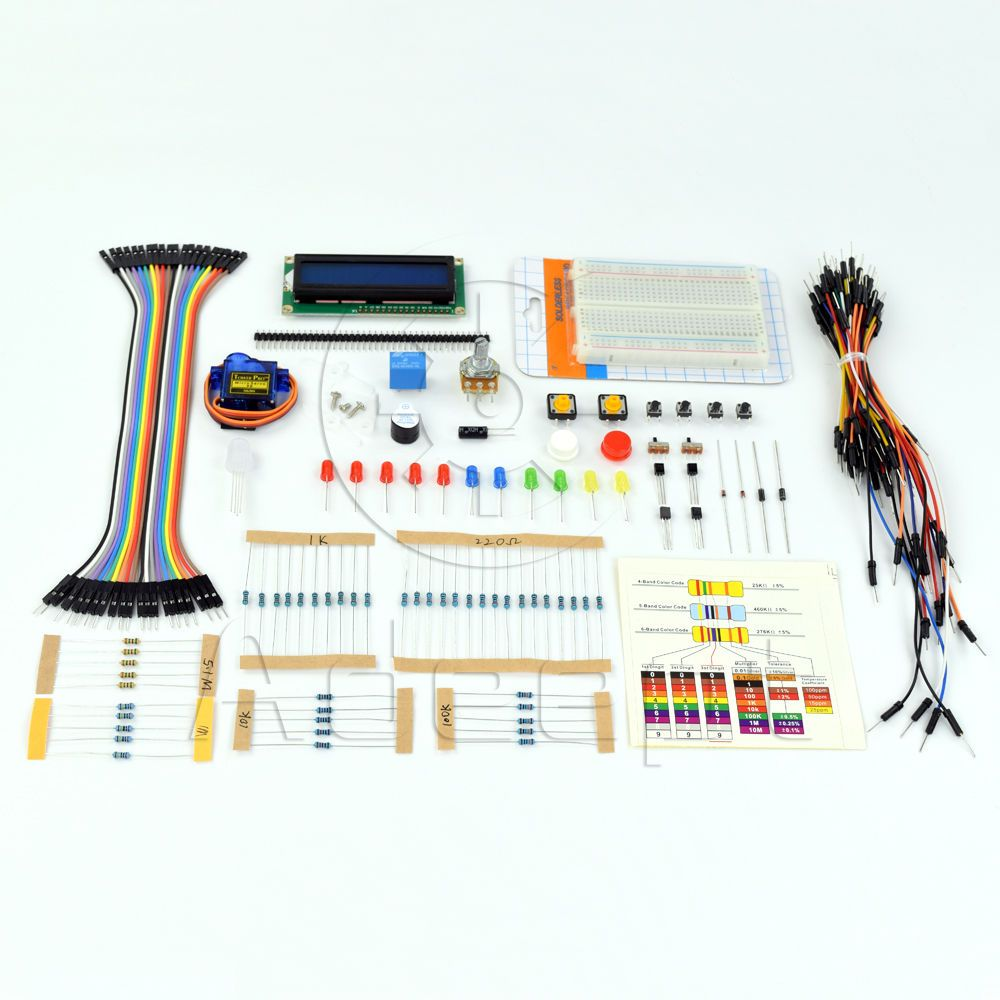 Details about Adeept New Project 1602 LCD Starter Kit For