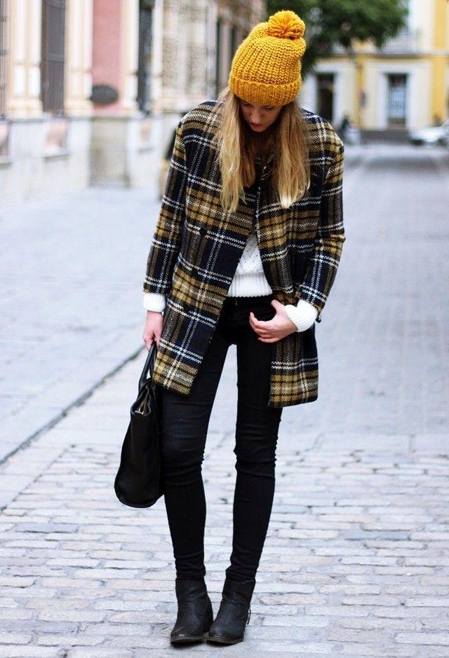 Tartan coat | Chicisimo