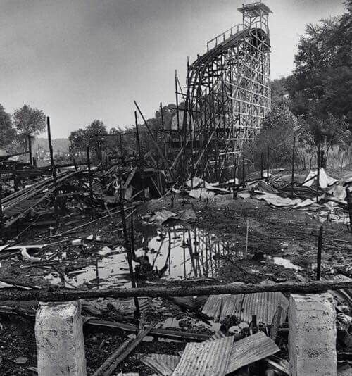 West View Park, Big Dip, After The Fire In 1980. What A