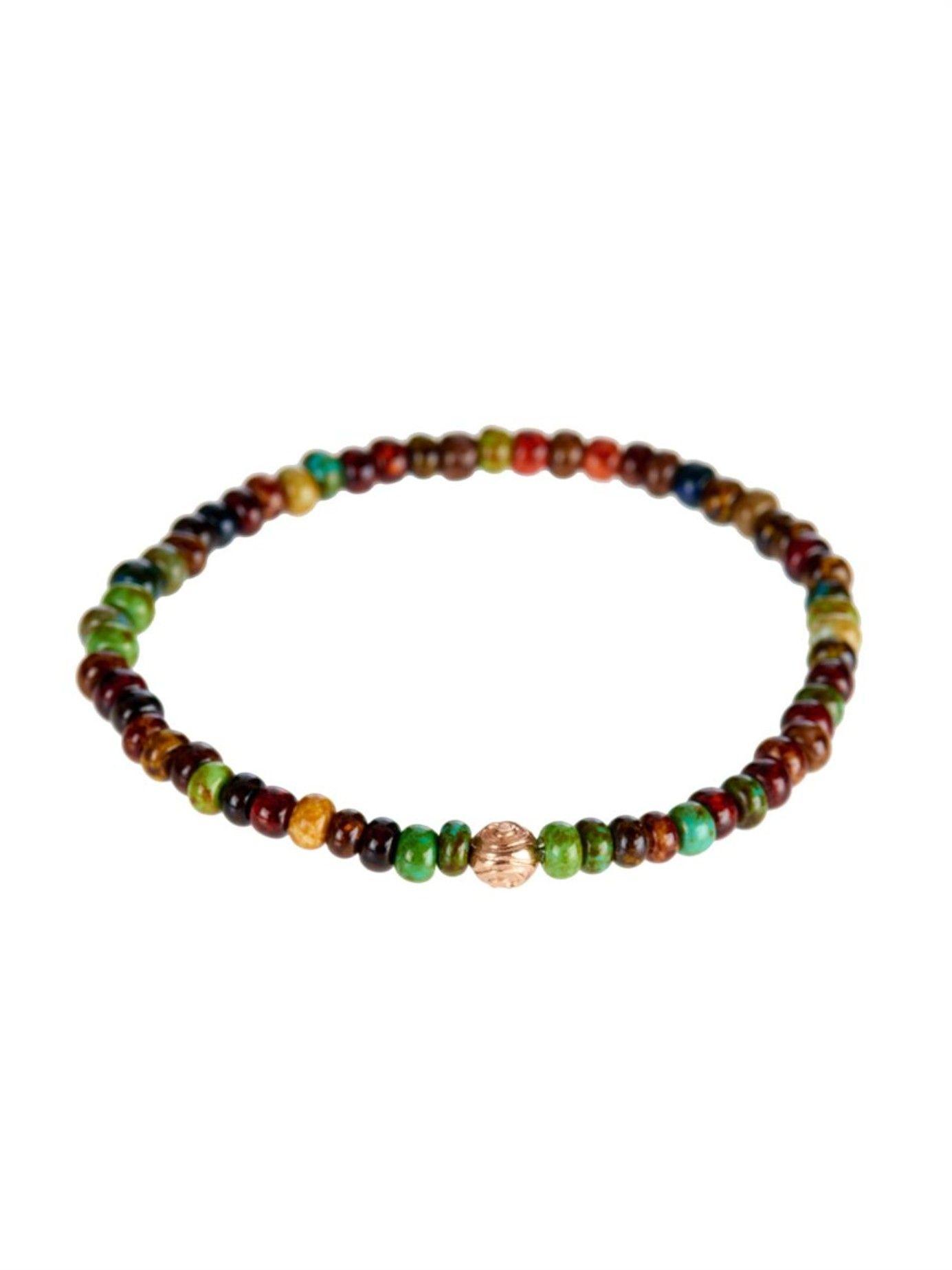 YingYang rosegold bead bracelet Luis Morais MATCHESFASHIONCOM