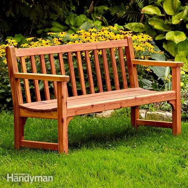 Build A Classic Garden Diy Bench With Dowel Construction Diy