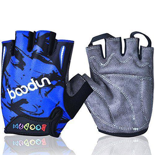 Mifulgoo Bdhgfh Boy Girl Child Children Kid Half Finger Fingerless Short Gloves For Cycling Skate Skateboard Roller Sk Bike Gloves Cycling Gloves Sports Gloves