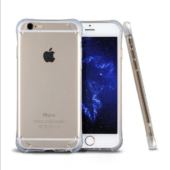 iPhone 6&6s Case iPhone 6 & 6s Case. Gamme Angel series. Slim soft liquid silicone gel transparent clear case. Crystal clear. Gamme Accessories Phone Cases