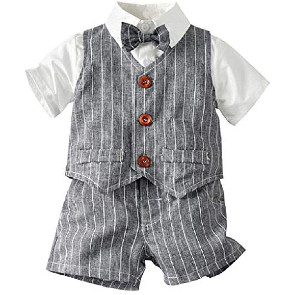 Baby Boys Clothes Cartoon à manches courtes T-shirt pantalon bébé Vêtements ensembles
