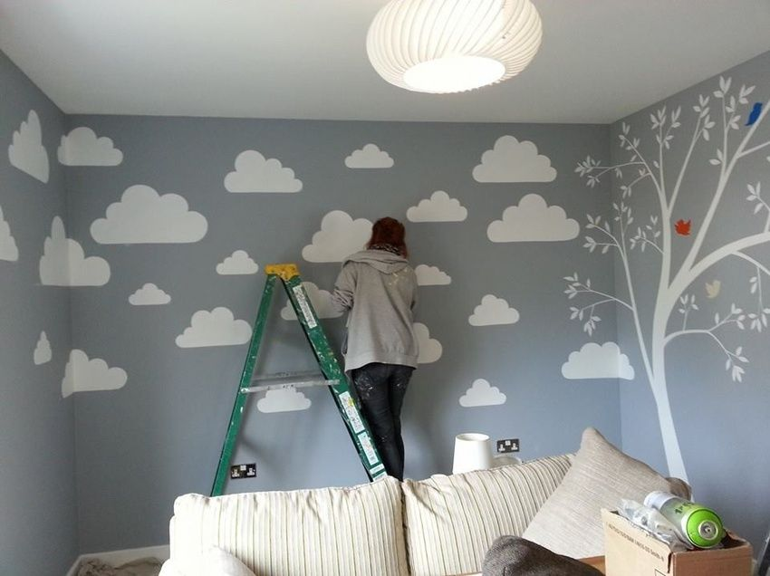 This Simple But Effective Design Was Painted Nursery For Newly Married Couple Expecting