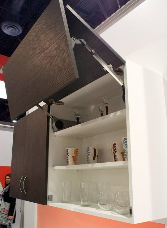 Kbis Trend Report Lift System Cabinet Doors From Blum