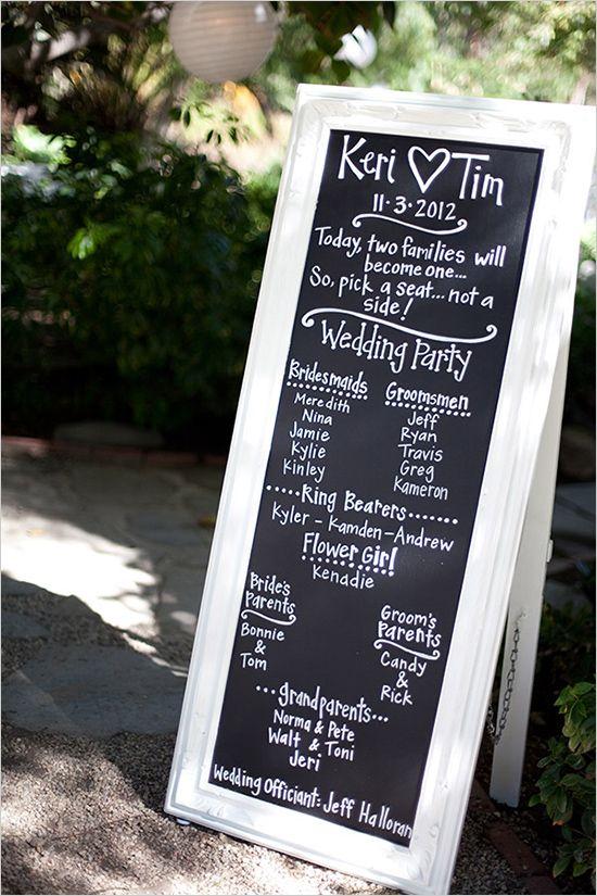 Wedding Program Sign On Pinterest Wedding Program