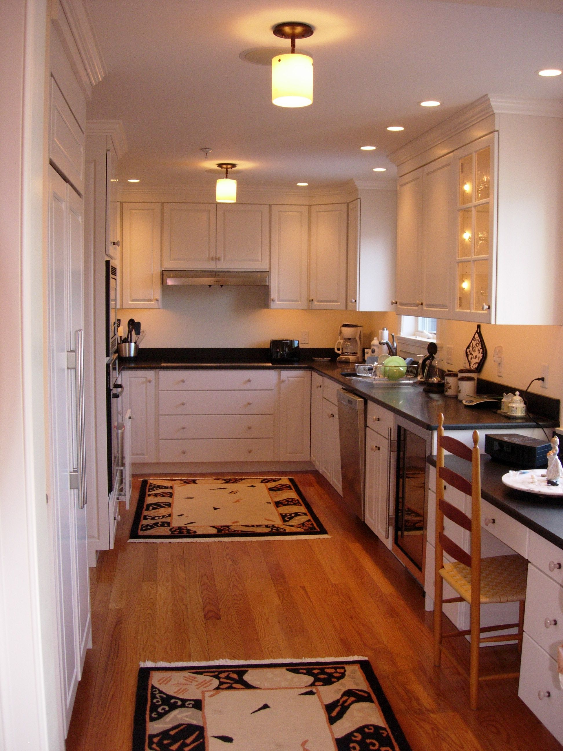 Recessed Lighting In A Small Kitchen Kitchen Design Small