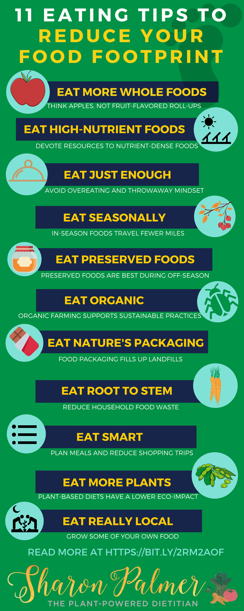 Top 11 Tips For Sustainable Eating Sharon Palmer The Plant Powered Dietitian Sustainable Eating Sustainable Food Sustainability
