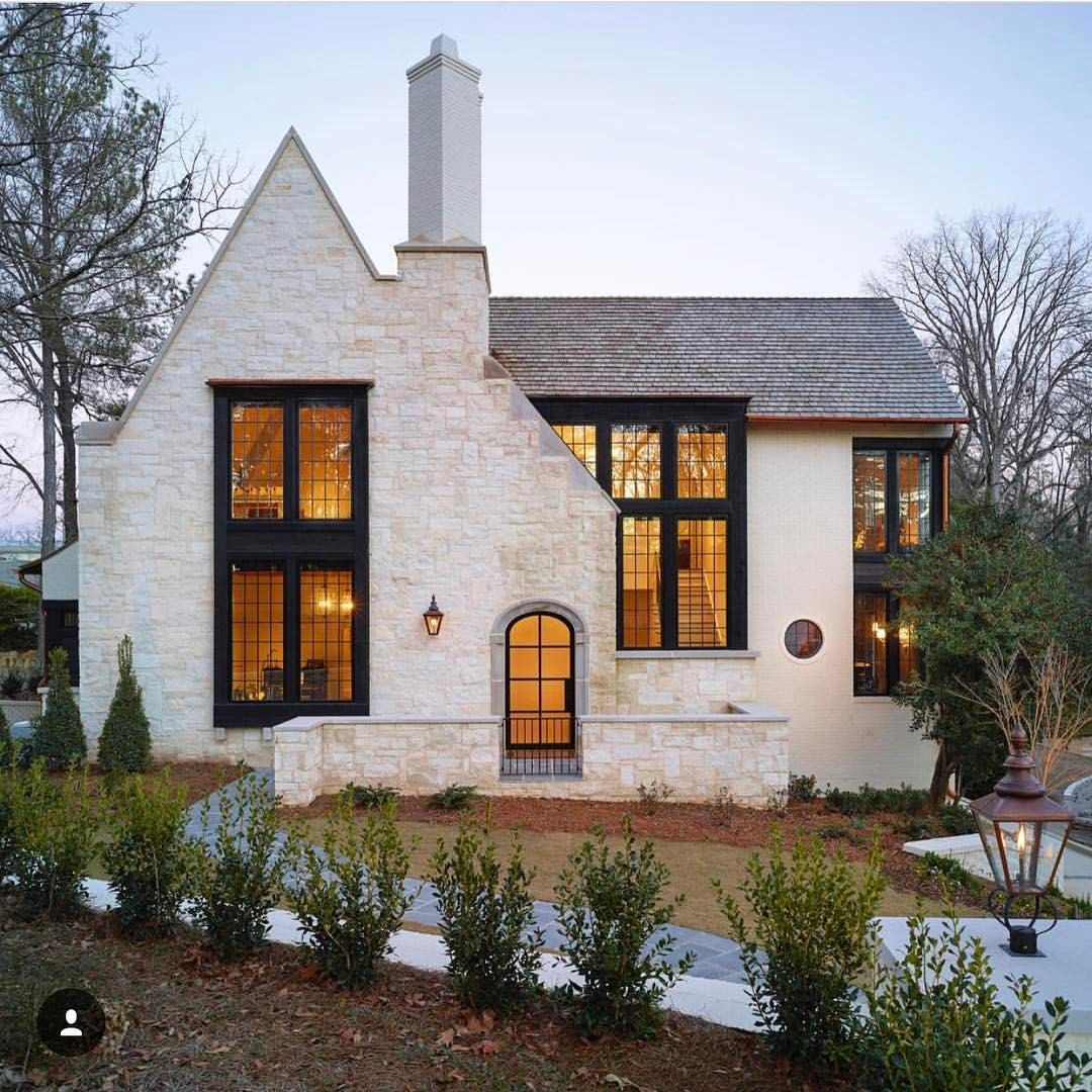 Modern Stone Cottage Exterior