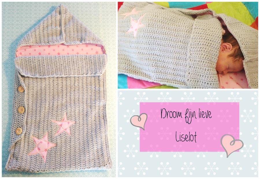 Patroon Gehaakte Baby Trappelzak Diy Haken Voor Kinderen Crochet