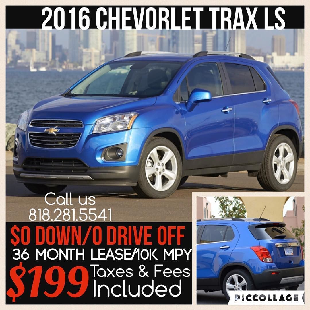 Lease Special 2016 Chevy Trax Ls Contact Me For More Information