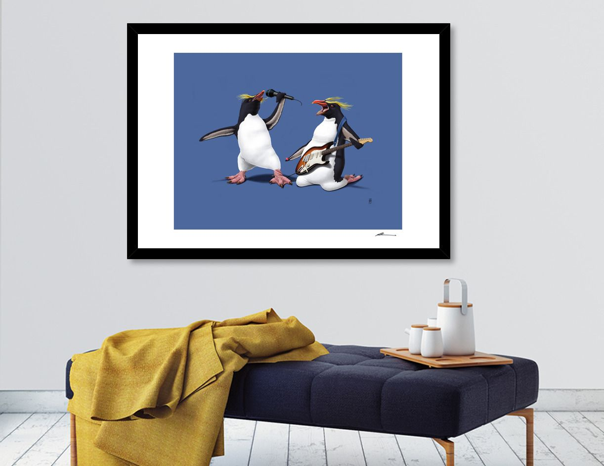 Giclee art print on heavyweight Fine Art paper, 310gsm, acid-free, 100% cotton art | decor | wall art | inspiration | animals | home decor | idea | humor