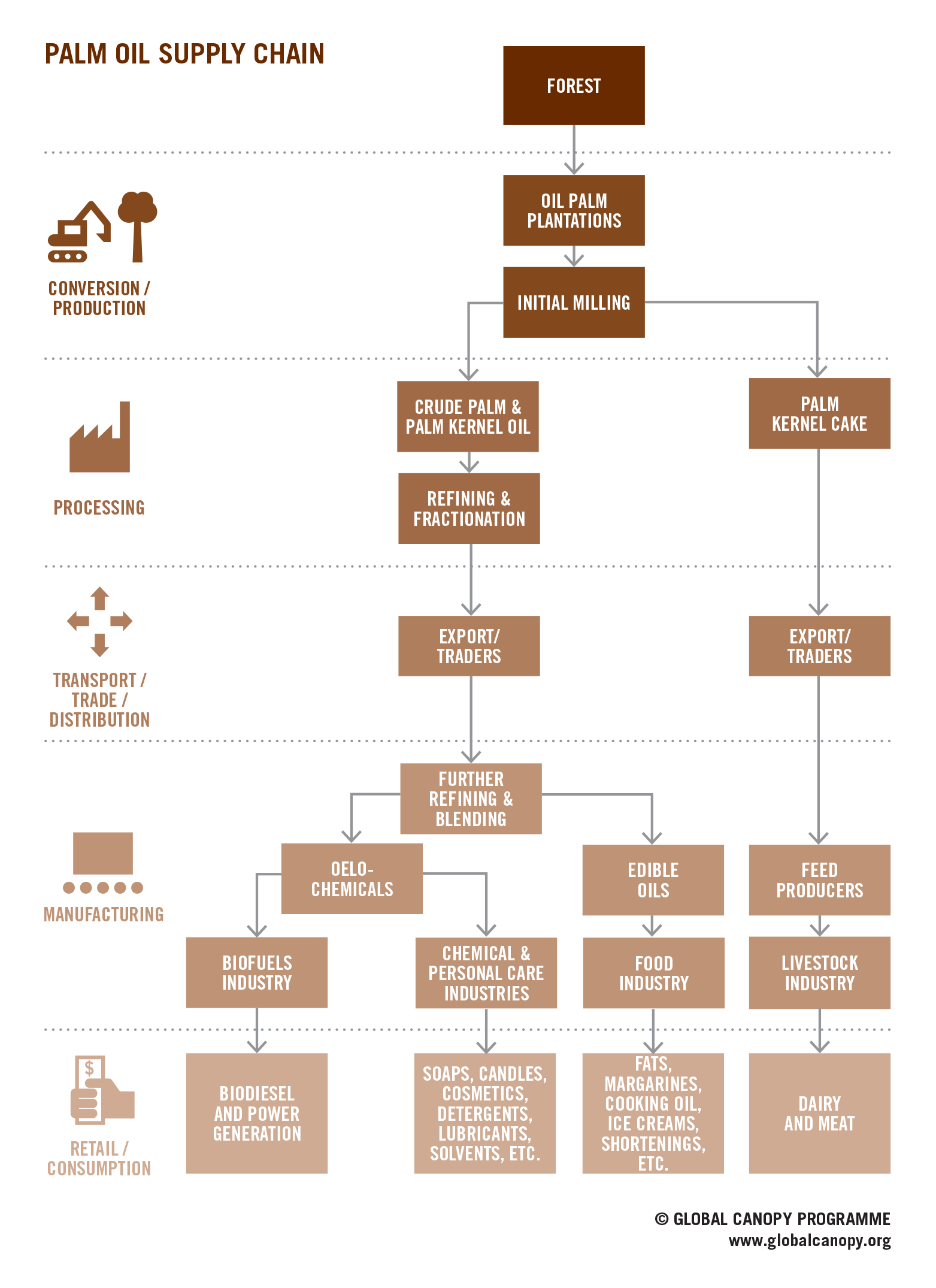 Palm oil supply chain palm oil is found in a wide variety of palm oil supply chain palm oil is found in a wide variety of products across fandeluxe Gallery