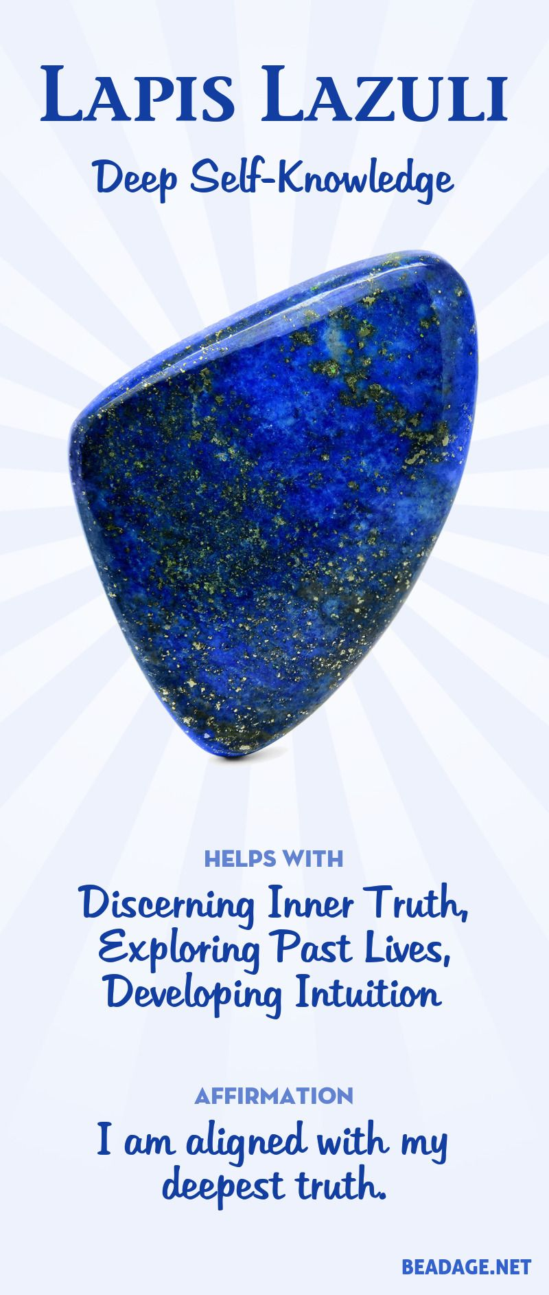 Lapis Lazuli Meaning and Properties | Gemstone Meanings & Crystal