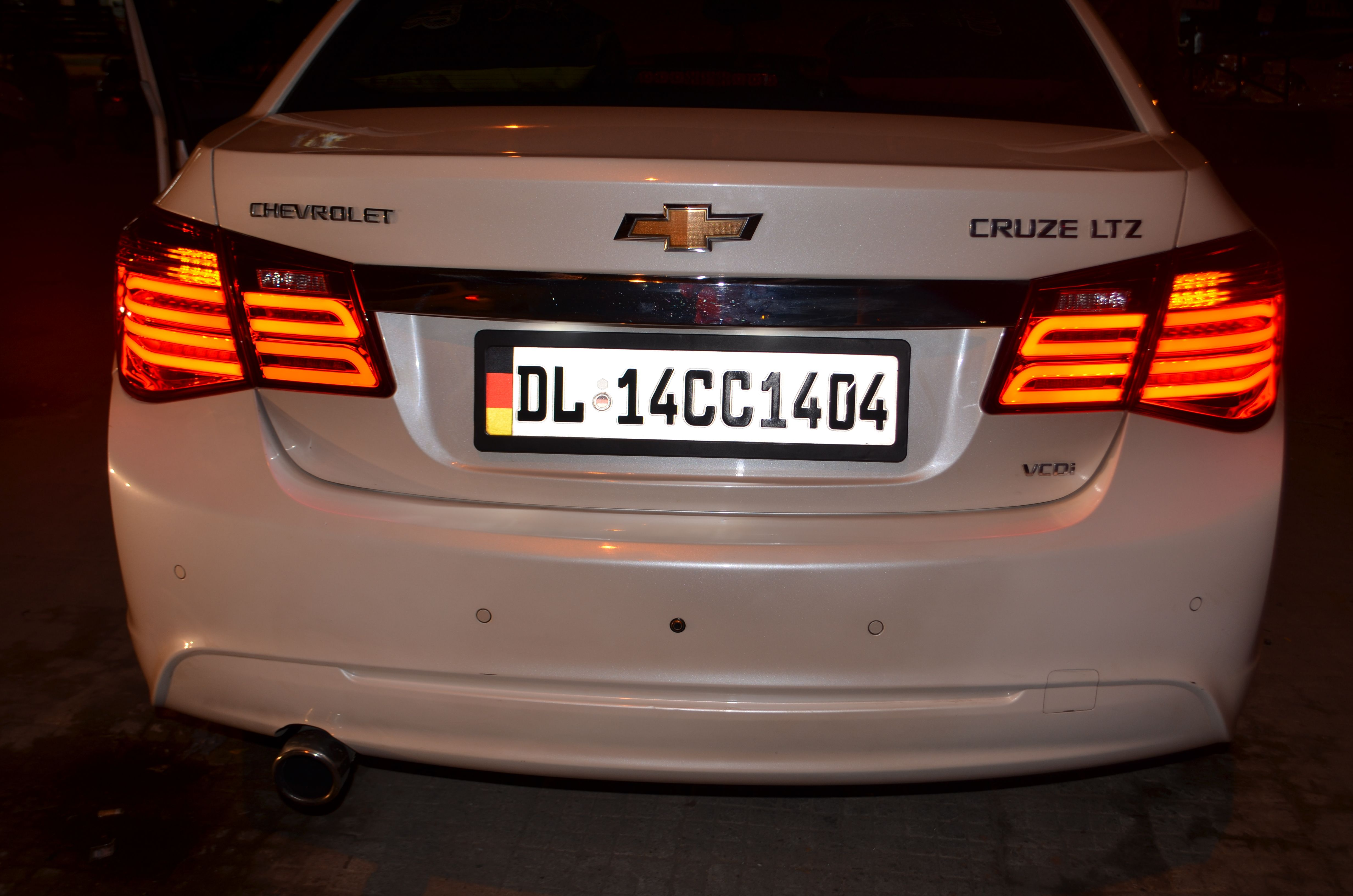 Tail Light In Chevrolet Cruze Shop Online On Carplus Cruze