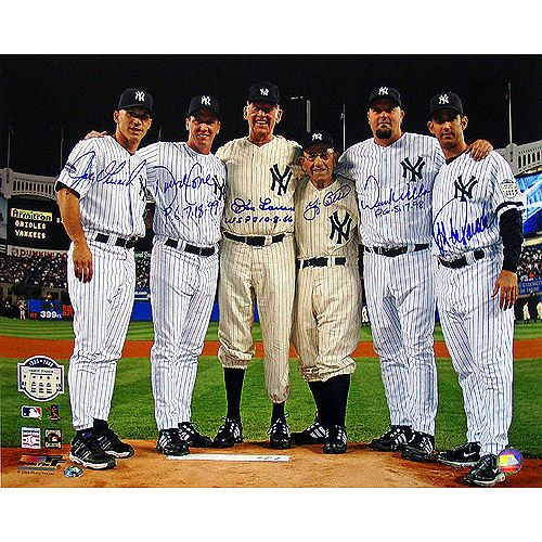 Steiner Sports New York Yankees Autographed Final Game At