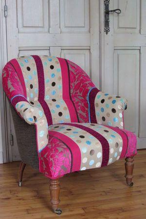 refaire un fauteuil crapaud brest renovons et relookons furniture upholstery lounge. Black Bedroom Furniture Sets. Home Design Ideas