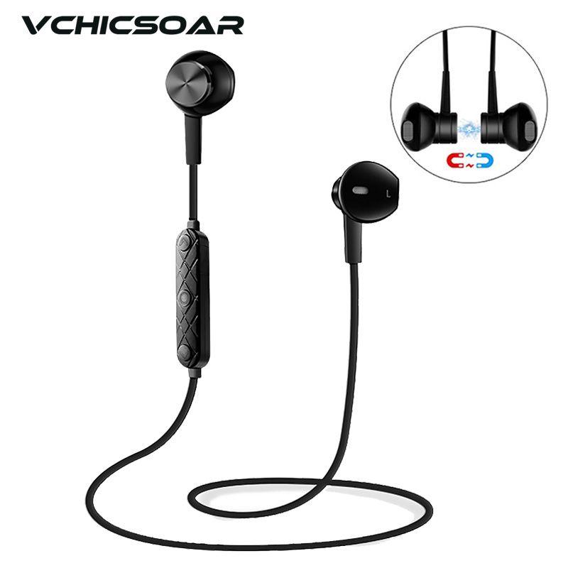 Vchicsoar i8 Wireless Sport Auricolari Bluetooth V4.1 Magnete Stereo  Correre Auricolare Riduzione Del Rumore Auricolari con Microfono per  telefoni xiaomi 8225c8600440
