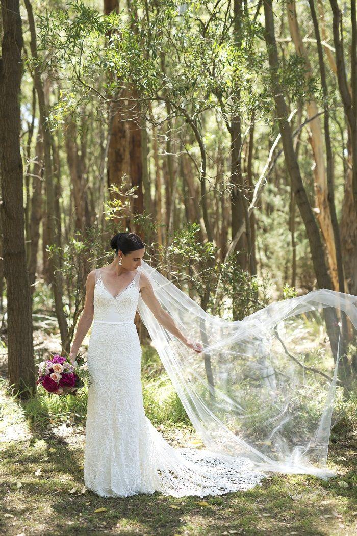 The bride wore Mariana Hardwick wedding dress | itakeyou.co.uk | Onthree photography