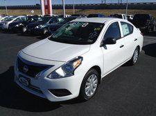 #New  #2015 #Nissan #VersaS Plus White Sedan