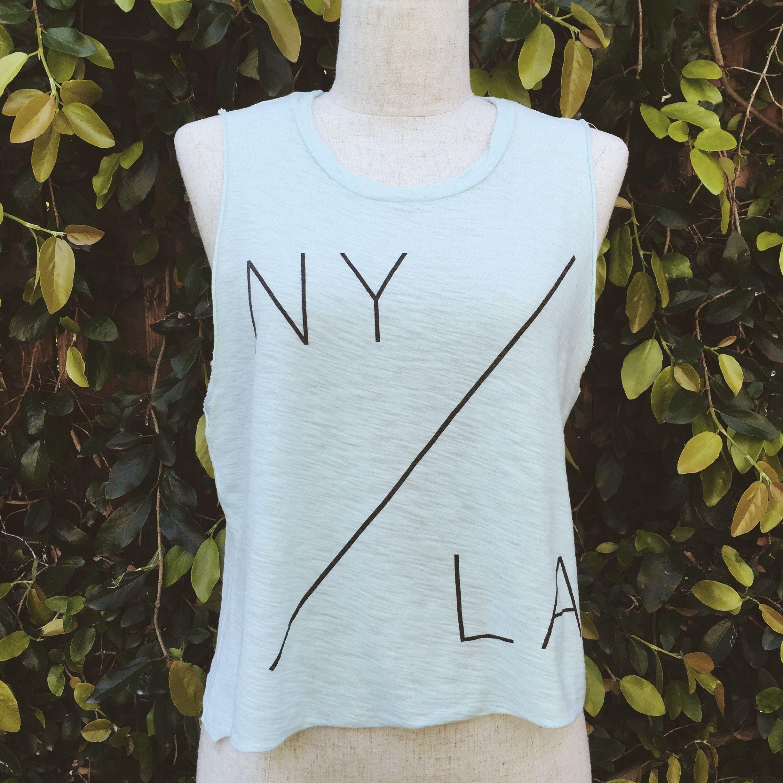N.Y./L.A Muscle Tank, Mint
