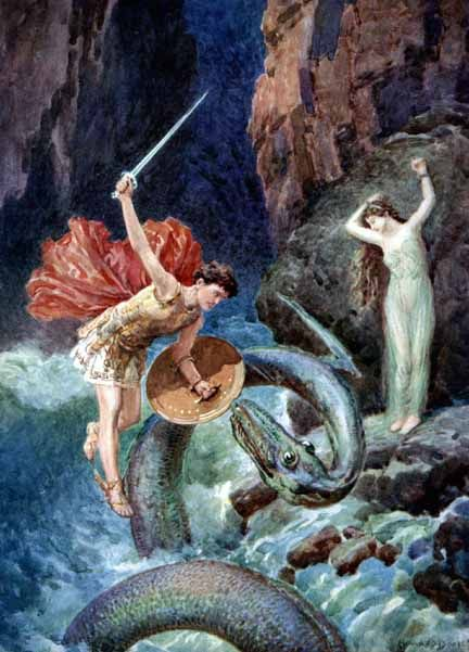 perseus and andromeda greek myth In greek mythology, andromeda was the daughter of kepheus and kassiopeia, king and queen of the phoenician kingdom of ethiopia contents[show] myth andromeda's mother kassiopeia, bragged that she was more beautiful than aphrodite, the goddess of beauty.
