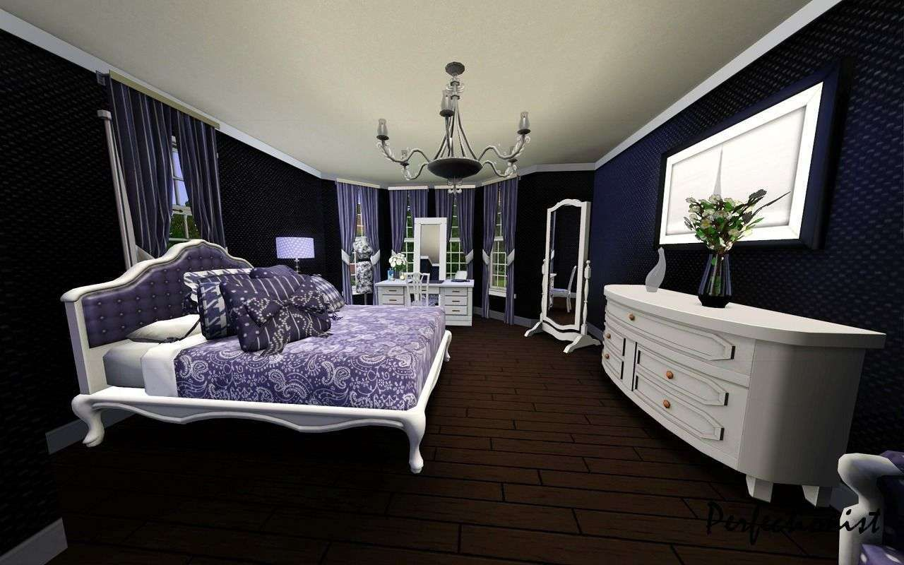 Exclusive White Black And Purple Bedrooms  Purple Bedrooms Best Purple And Silver Bedroom Designs Inspiration