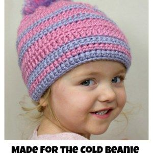 Made for the Cold Beanie Kid's Style #messybunhat