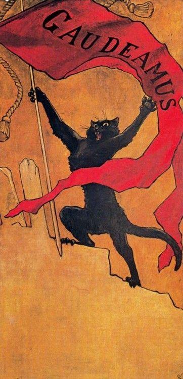 Αποτέλεσμα εικόνας για théophile alexandre steinlen gaudeamus