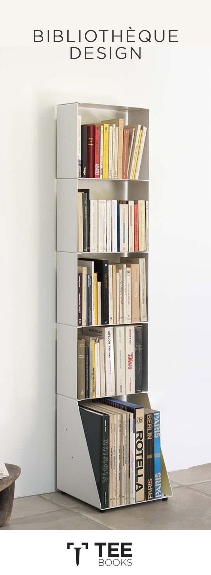 Exposez Vos Livres Et Ouvrages D Une Maniere Simple Originale Et Design Sur Les Bibliotheques Design 15 Cm De P Diy Deco Rangement Deco Maison Rangement Livre