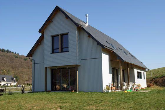 maison architecte emmanuel lavall e maisons contemporaines maisons bois maison bois maison. Black Bedroom Furniture Sets. Home Design Ideas